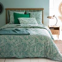 Ycata Leaf Print Cotton Flat Sheet