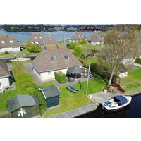 Vakantie accommodatie Friesland Nederland 8 personen