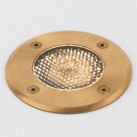 Seawater resistant recessed floor light Gramos
