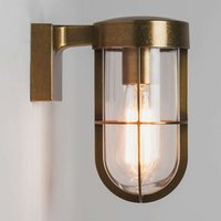 Cabin Wall outdoor wall lamp in antique brass look