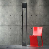 Effective Note floor lamp in black