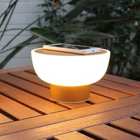 Patio LED decorative outdoor light  gold  20 cm