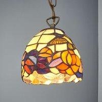 Tiffany style hanging light COLIBRI