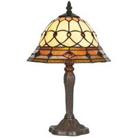 Table lamp ANTHEA in Tiffany style