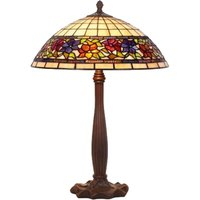 Distinctive table lamp FLORA  Tiffany style