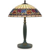 FLORA handmade Tiffany style table lamp