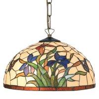 Hanging light Elanda in the Tiffany style  1 bulb