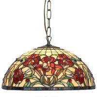 Classic hanging light ELINE  2 bulb