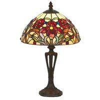 ELINE classic Tiffany style table lamp  40 cm