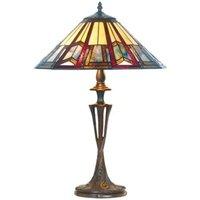 LILLIE elegant Tiffany style table lamp
