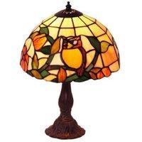 Motif table lamp JULIANA in the Tiffany style