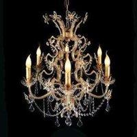 BENETTA chandelier  rich in details  6 bulb