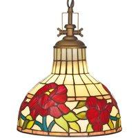 Beautiful hanging light Yria  Tiffany style