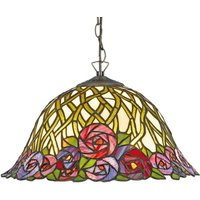 Hanging lamp Melika in the Tiffany style