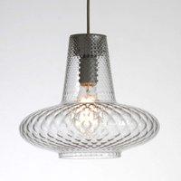 Transparent glass pendant light Giulietta