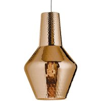 Romeo hanging light 130 cm metallic bronze