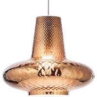 Giulietta hanging lamp 130 cm metallic bronze