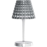 0450 LED table lamp  battery  touch dimmer  grey