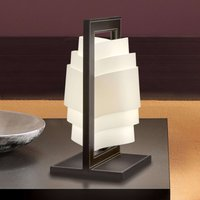 Dark brown table lamp Vincente