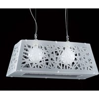 Star modern hanging light for various rooms  white