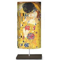 Art motif on the floor lamp Klimt III