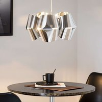 Chrome plated hanging light Mini Alien