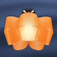 Sky Mini Alien   orange ceiling light