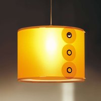 Orange pendant light Rotho