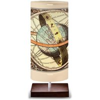 Globe table lamp with a globe design