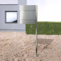 Standing letterbox Letterman V stainless steel