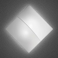 Nelly S   square wall light with fabric 60 cm