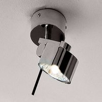 Chrome plated wall and ceiling spotlight AX20