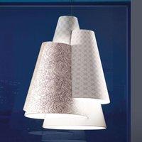 Axolight Melting Pot 60 hanging light in white