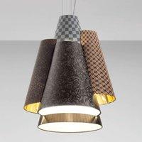 Axolight Melting Pot 60 hanging light  brown gold