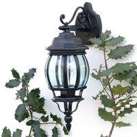 Outdoor wall light Istria II black  downward