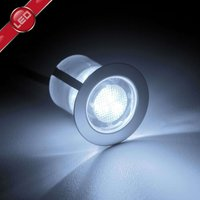 Ten Cosa LED recessed lights  3 cm  cool white