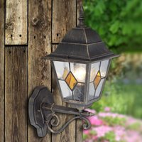 Jason outdoor wall light with rustic charm