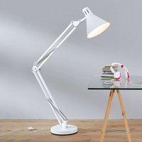 Floor lamp WINSTON in white