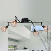 4 bulb Dalma ceiling light