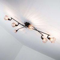 Trendy ceiling lamp Dalma   6 bulb