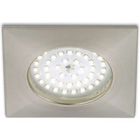 Warm white LED recessed light Paul  matt nickel