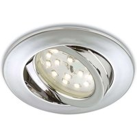 Adjustable LED recessed light Erik  chrome