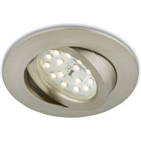 Flexible LED recessed light Erik  matt nickel