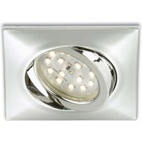 Rectangular LED recessed light Erik  chrome