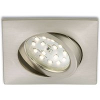 Rectangular LED recessed light Erik  matt nickel