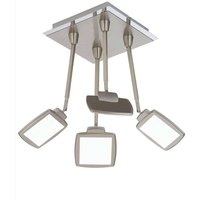 LED ceiling light Quadra  four bulb  square