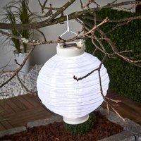 LED solar lantern Jerrit 20 cm  white