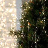 Dew Drops LED string lights for indoors  125 bulb