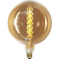 LED globe bulb E27 6 W amber  dimmable