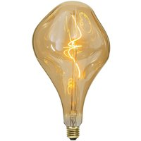 LED bulb E27 3 8 W amber  dimmable